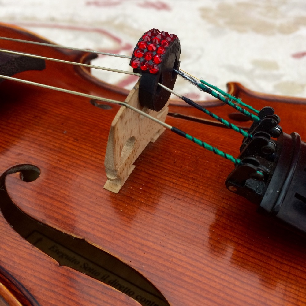 Violin/Viola Mute - Siam (208)