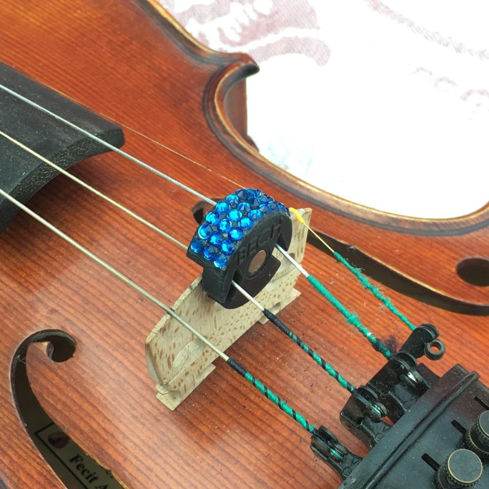 Violin/Viola Mute - Capri Blue (243)