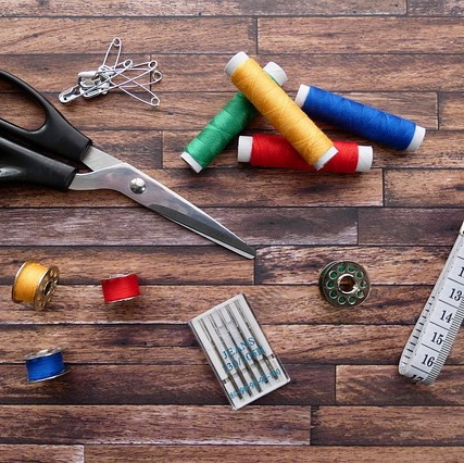 materials and haberdashery and craft supplies
