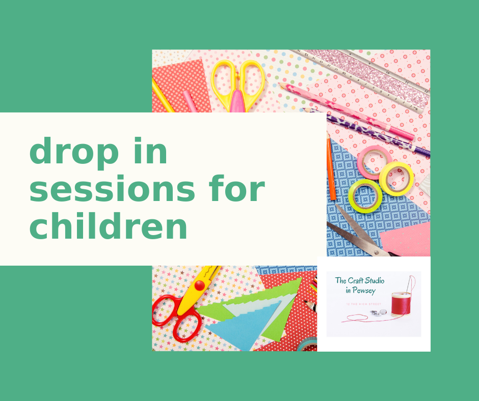 drop in sessions for  children at The Craft Studio in Pewsey