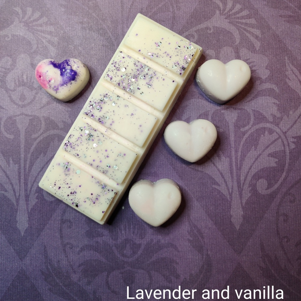 Lavender and Vanilla snap bar