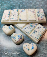 strawberry and lilly snap bar - set of 4 snap bars