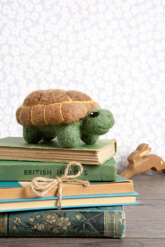 tortoise needle felting kit