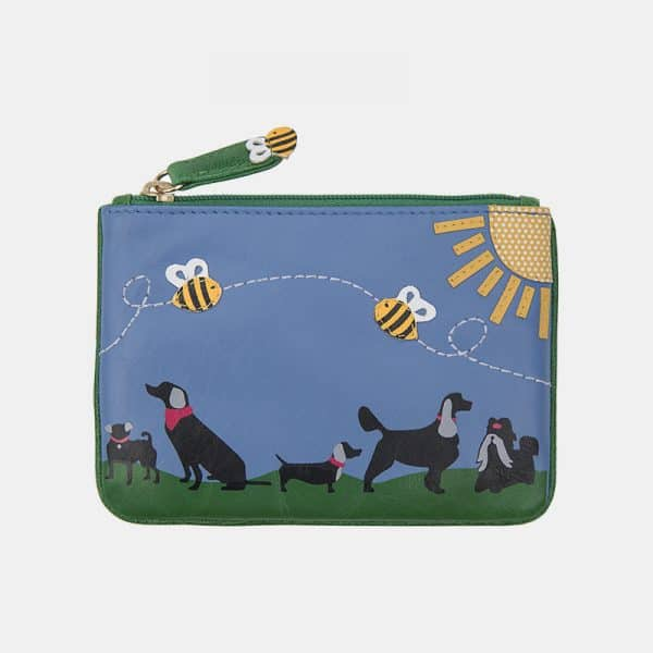 RFID Safe Coin Purse With Bumblebees 13.5cm x 9.5cm Perfect Gift idea