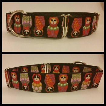 Russian Dolls Martingale Collar