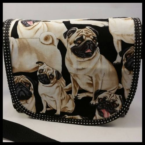 Pugs Mini Messenger Bag