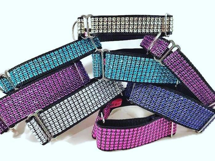 <!-- 006 -->Bling Fashion Dog Collars
