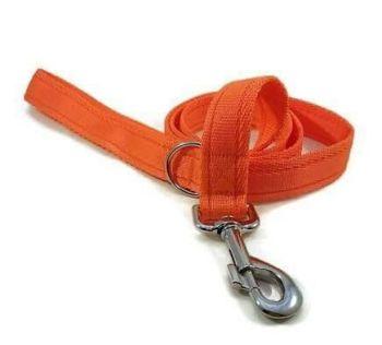 4ft Orange Cushion Dog Lead