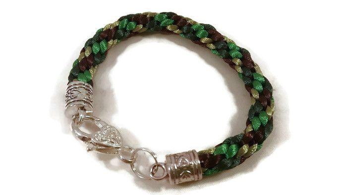 Camo Braided Bracelet