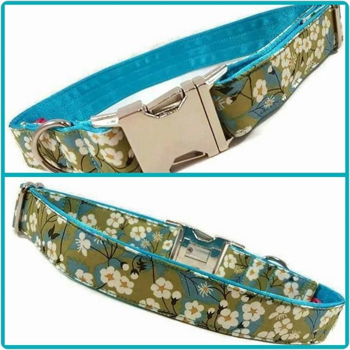 Liberty London Clip Dog Collars