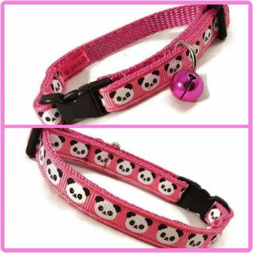 Pink Pandas Cat Collar