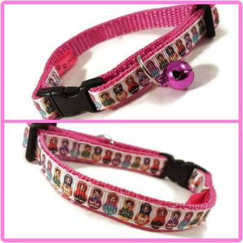 Russian Dolls Cat Collar