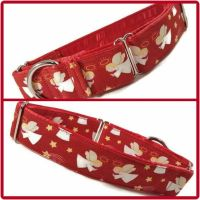 Red Angels Martingale Collar