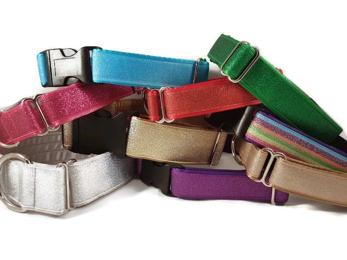 <!-- 006 -->Glitter Fashion Dog Collars