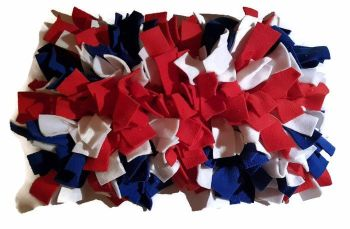 'The Union Jack' Mini Fleecy Forage Treat Mat