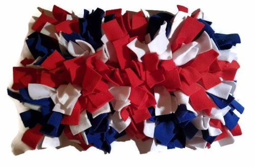 'The Union Jack' Mini Fleecy Forage Treat Mat