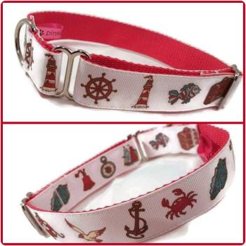 "1"" Seaside Greyhound House/Tag Collar"