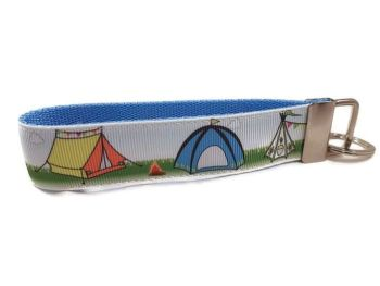 Tents and Teepees Keyfob