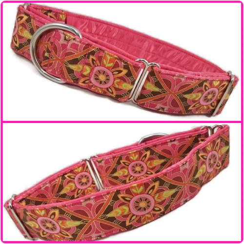 Happy Harlequin Martingale Collar