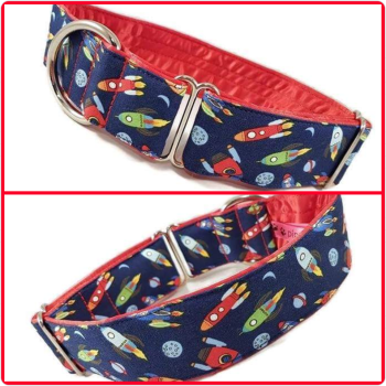 "1.5"" Mini Rockets House/Tag Collar"