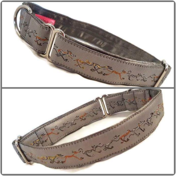 "1"" Silver Nellie Doodles House/Tag Collar"