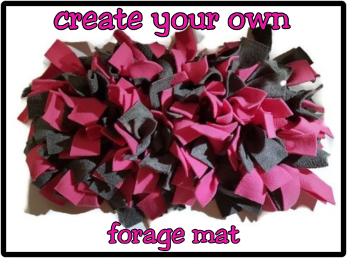 Create Your Own Forage Mat