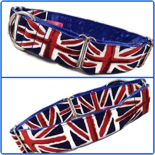 Union Jack Martingale Collar