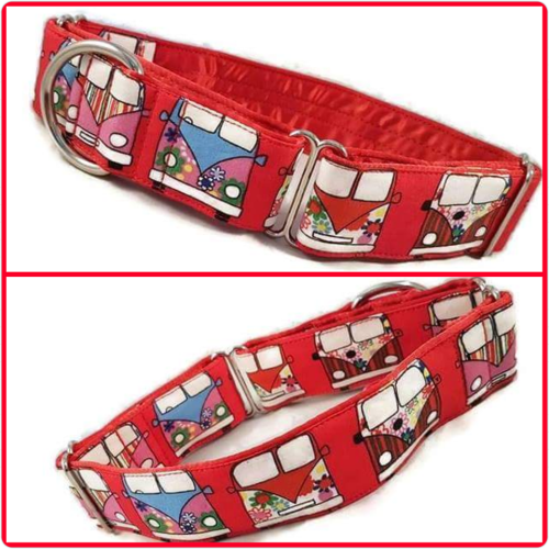 Red Campers Martingale Collar