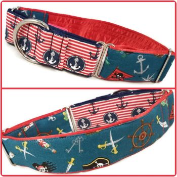 Sailor Scatter Two-Tone Martingale Collar