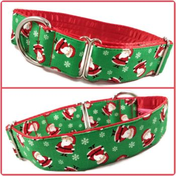 "1.5"" Mini Santas Greyhound House/Tag Collar"