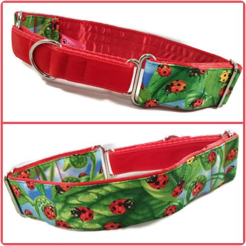 Ladybird Invasion Half Martingale Collar