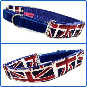 Union Jack Half Martingale Collar