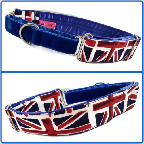 Union Jack Half Martingale Collar