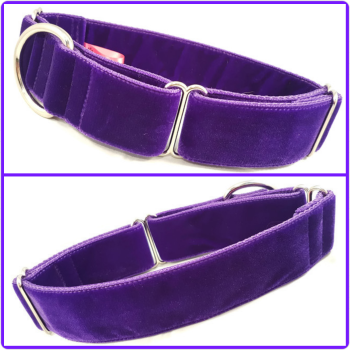 Create Your Own - Double Swiss Velvet Martingale Collar