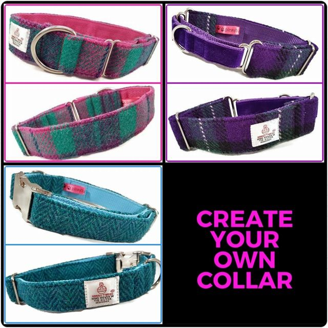 Create Your Own Harris Tweed Collar