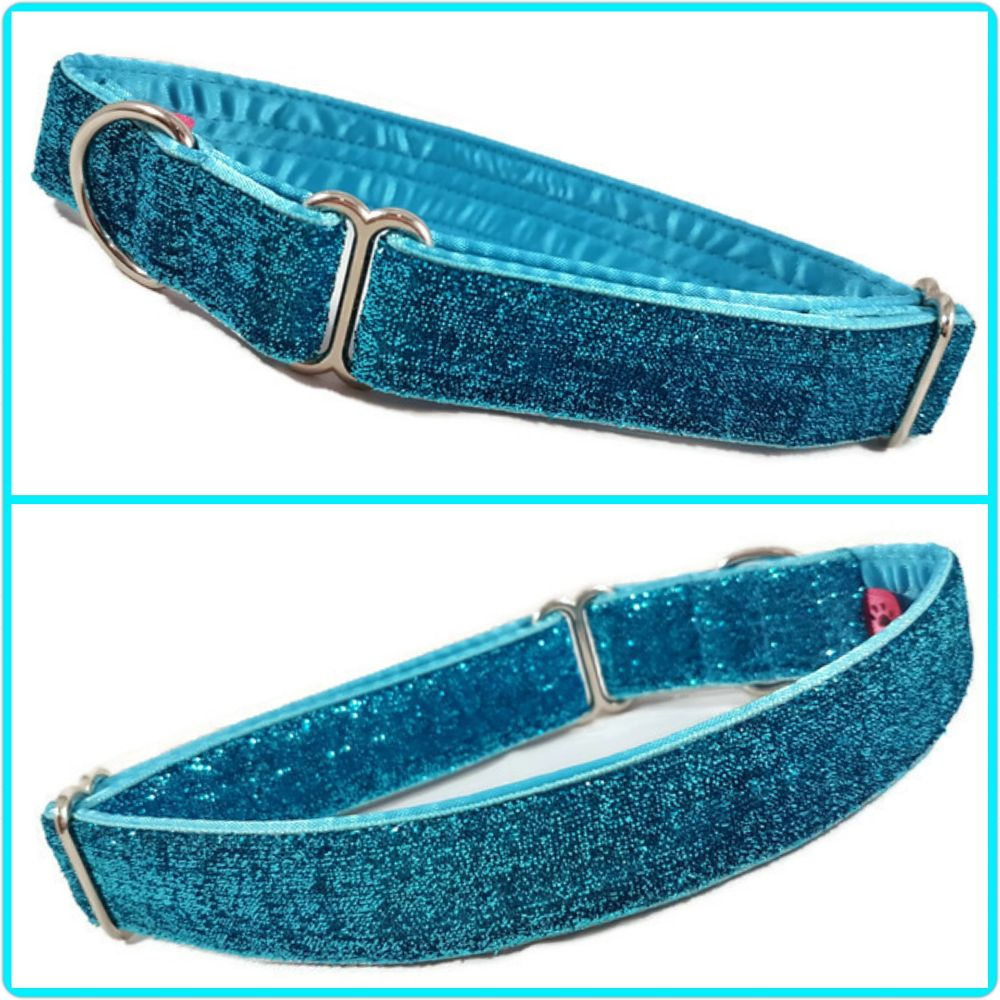 <!-- 006 -->Glitter Velvet Fashion Dog Collars
