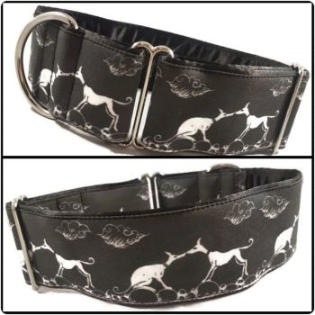 "2"" Kissing Hounds House Collar"