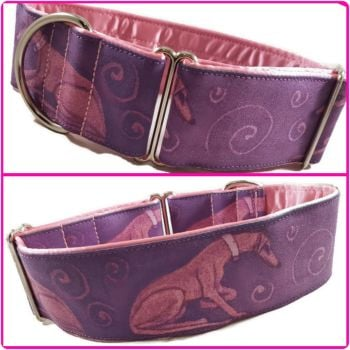 "2"" Swirl Hounds House Collar"