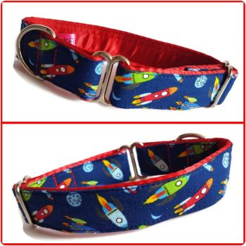 "1"" Mini Rockets Whippet House Collar"