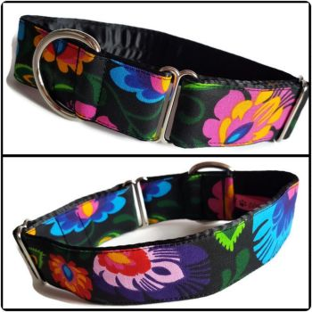 "1.5"" Folklore Floral House/Tag Collar"