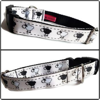 """1"""" Sheep Clip Dog Collar"""