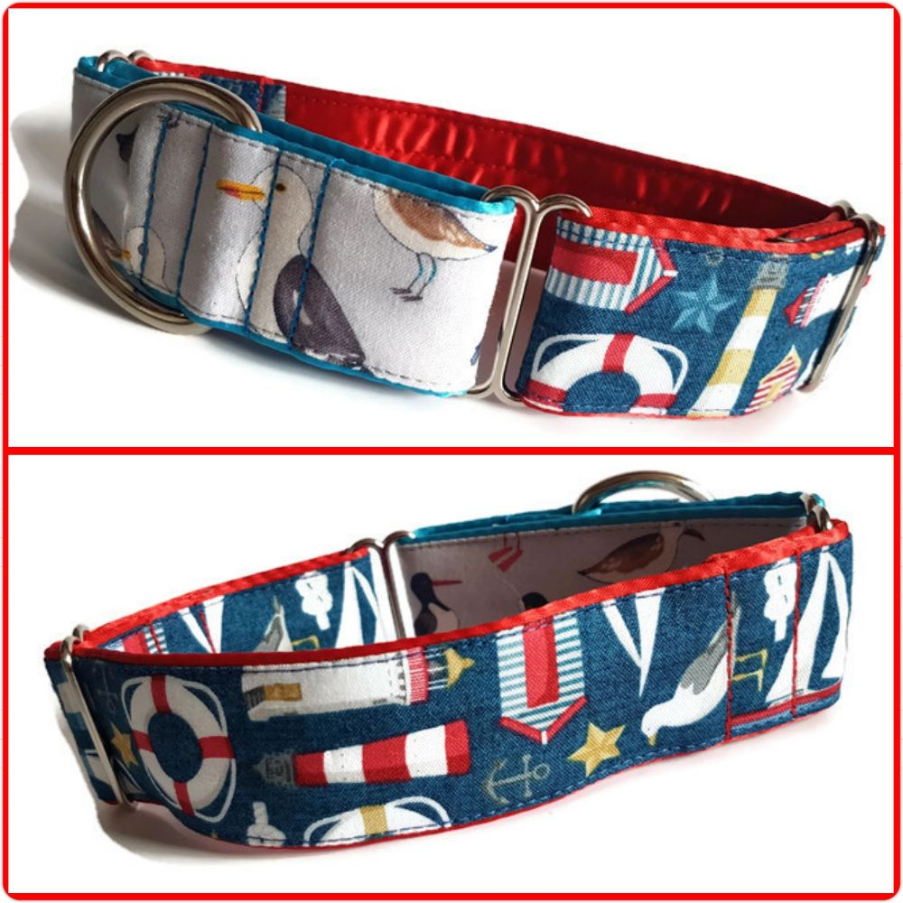 Two-Tone Martingale Collars