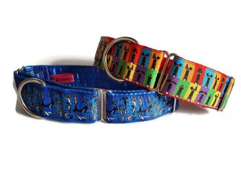 "1.5"" Richard Skipworth Satin Lined Collars **Made to Order**"