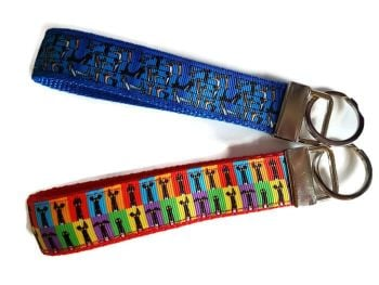 Richard Skipworth Ribbon Keyfobs **Made to Order**
