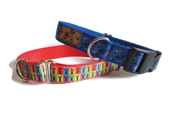 Richard Skipworth Webbing Backed Collars **Made to Order**