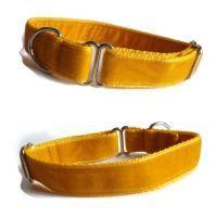 Double Velvet Whippet Collars