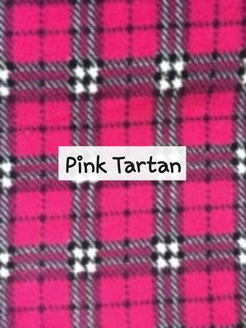 Pink Tartan Fleece