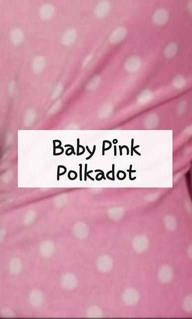 baby pink polkadots
