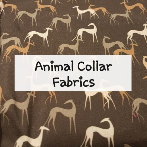 Animal Collar Fabrics