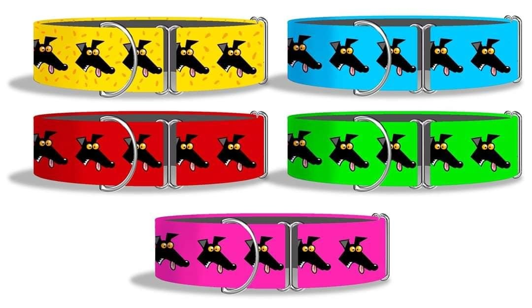 *NEW* Richard Skipworth 'Derps' Fabric Collars  **Made to Order**
